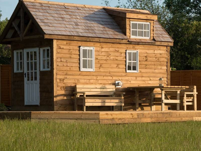 Tiny House Freshwinds Camping Holidays